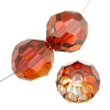 Swarovski Bead 5900 Round 14mm Red Magma Crystal